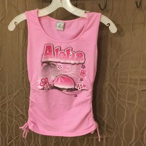 Other - Girls Aloha tank top